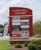 THE CHANNELL SHOPPING CENTER