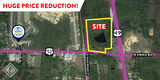 HUGE PRICE REDUCTION! 27 AC IN OPPORTUNITY ZONE | HWY 49 & HWY 53