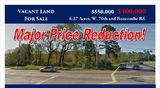 West 70th Street and Buncombe Road - 6.27 Acres Land for Sale