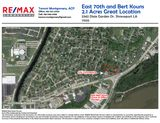 2.1 Acres Great Location E 70th and Bert Kouns