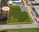 Rare M-1 Industrial Corner Lot Fronting S Choctaw near Cortana Mall