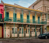 Iconic French Quarter Restaurant Building